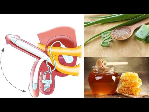 Benefits Aloe vera gel and honey for natural male enhancement  Aloe vera and Honey Recipe