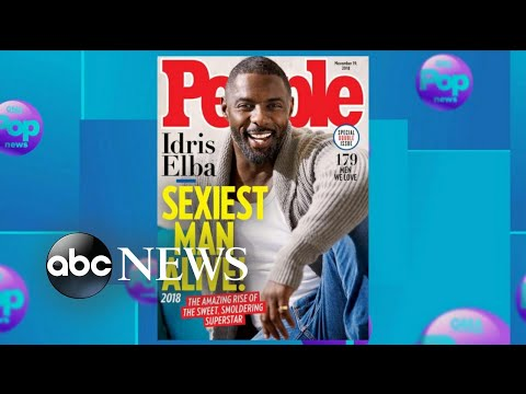 Idris Elba named People Magazines Sexiest Man Alive