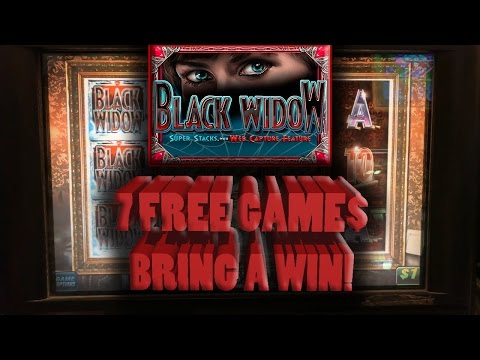 💰 The Raja Gets 7 FREE Games Awarded on 🕸 Black Widow 🕷
