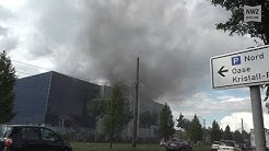 Weserpark In Bremen: Cinestar-Kino brennt