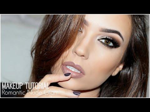 Romantic Nude Glam Makeup Tutorial | TheMakeupChair