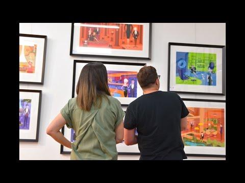 Buying art like a boss