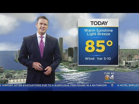 CBSMiami.com Weather @ Your Desk 11-19-17 7AM