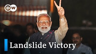 India election: Modi's BJP secures huge win | DW News