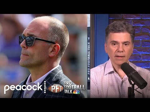 Ravens GM DeCosta has unique longevity with BAL (FULL INTERVIEW) | Pro Football Talk | NBC Sports