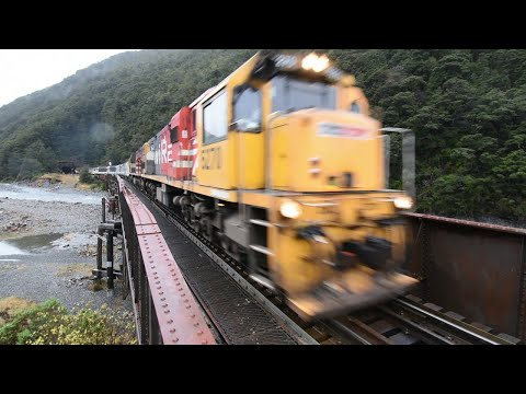 TranzAlpine train  Greymouth to Chch
