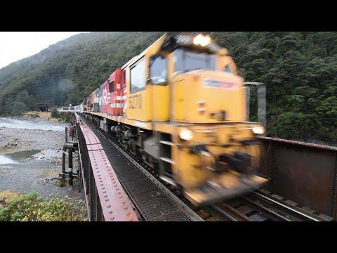 TranzAlpine train  Greymouth to Chch