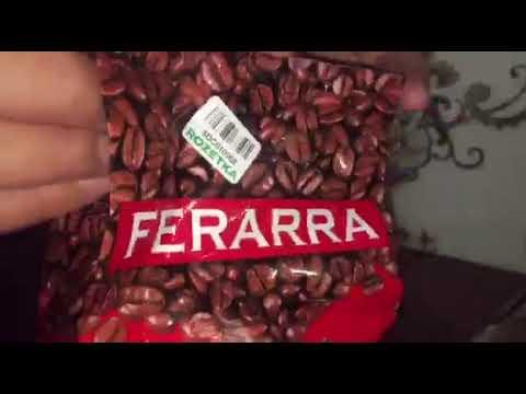 Кава в зернах Ferarra Caffe 100% Arabica з клапаном 1 кг (4820097817673)
