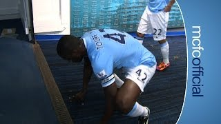 TUNNEL CAM - City v Swansea
