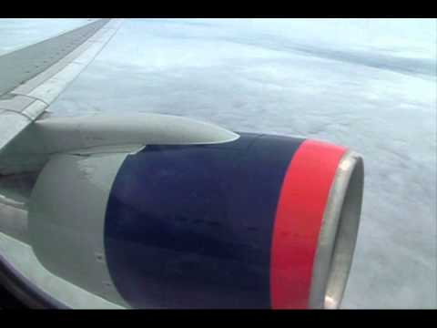 Delta Airlines Flight 345 departing JFK and arrival into Guatemala City April 2008