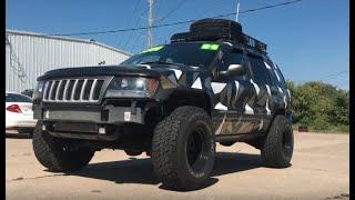 2004 Jeep Grand Cherokee 4.0 - Lifted, Urban Camo, 33's