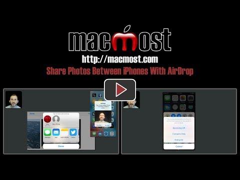 Share Photos Between iPhones With AirDrop (#1412)