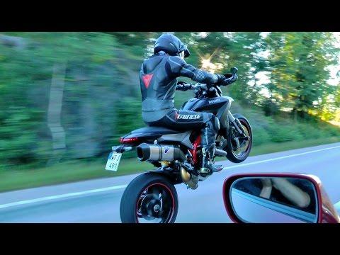 single-turbo-supra-580-hp-vs-ducati-hypermotard-821