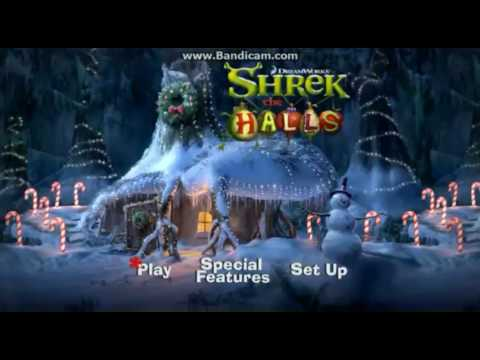 Shrek the Halls: DVD Menu with Christmas Wrapping Song