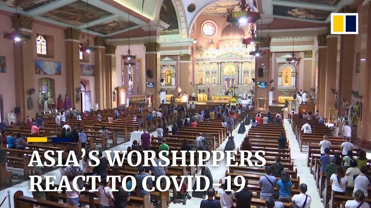 Coronavirus: Religious worshippers across Asia react to Covid-19 outbreak