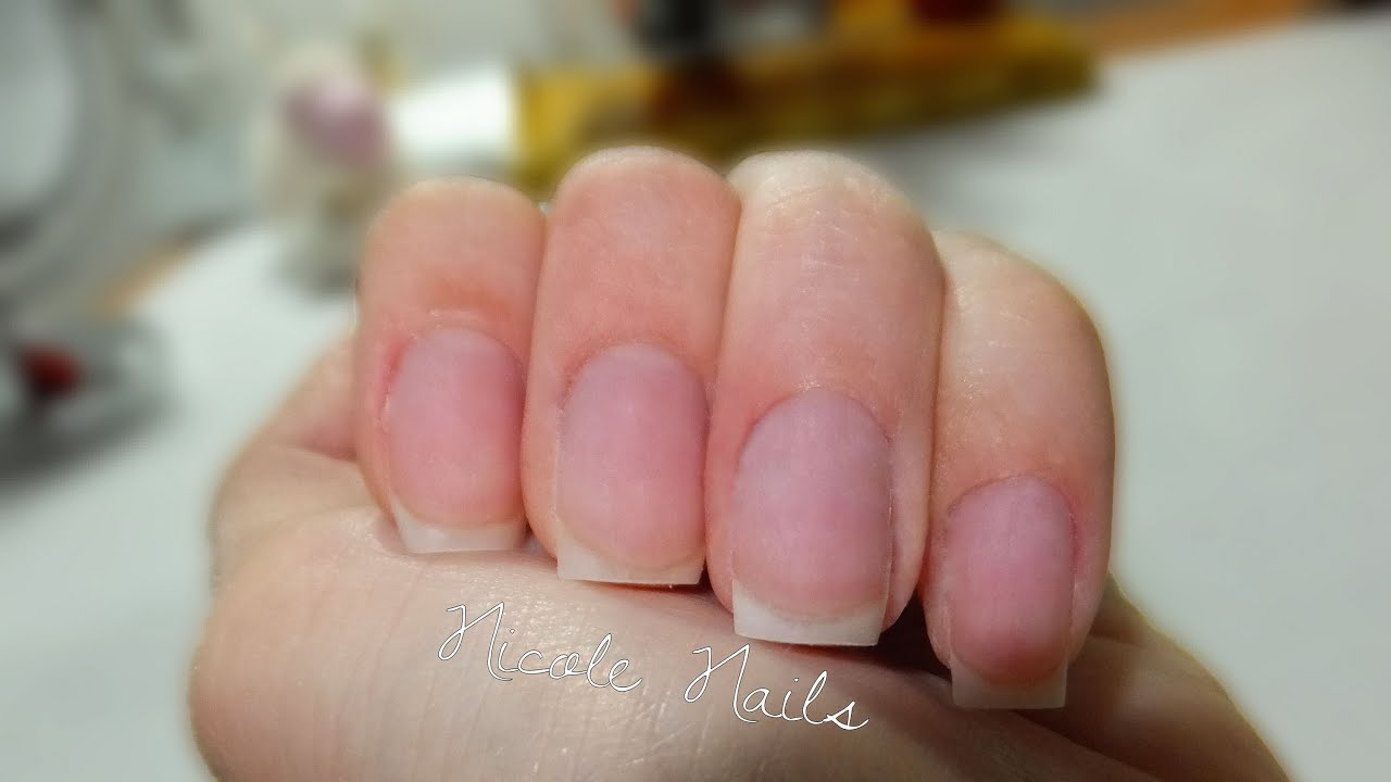 How to shape your nails SQUARE! - YouTube