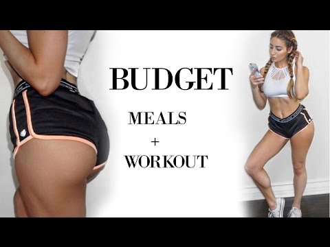 Flat Stomach + Bigger Butt | Meals & Workout 2017