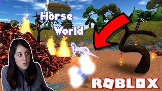 ROBLOX AWKWARD MOMENTS ON HORSE WORLD! Ep. 5 CARRIAGE UPDATE AND NEW MAP! HORSE HEART