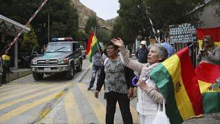 La embajadora mexicana en Bolivia abandona el país andino