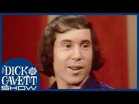 "Paul Simon explains his song ""Mrs. Robinson"" to Dick Cavett (1970)"