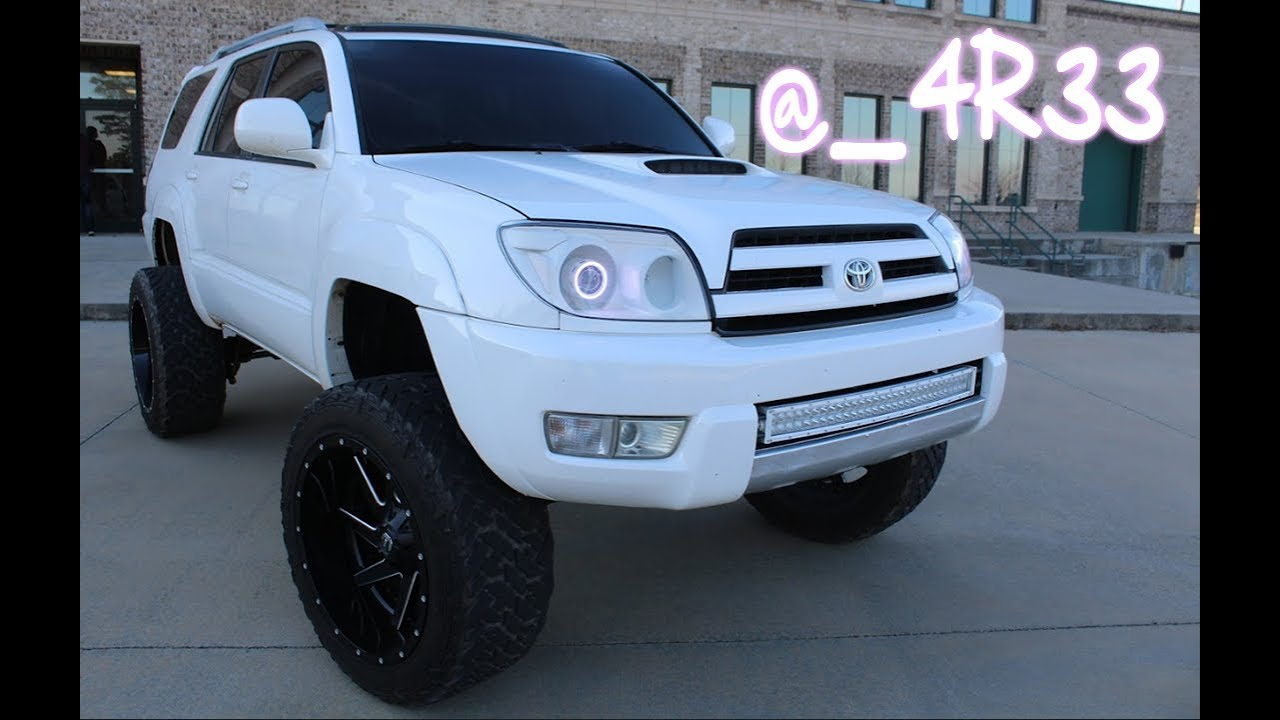Lifted Toyota 4runner On 22x12s And 35s 4r33 Youtube