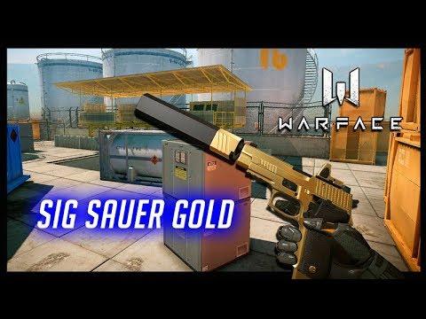 WARFACE NOOB A PRO #84 SIG SAUER GOLD thumbnail