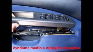 Škoda Octavia 1 - demontáž zámku ze dveří