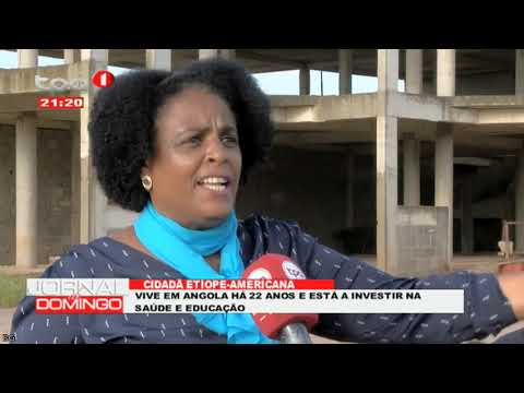 Cidadã Etíope Americana Ganha Cidadania Angolana E Investe No País