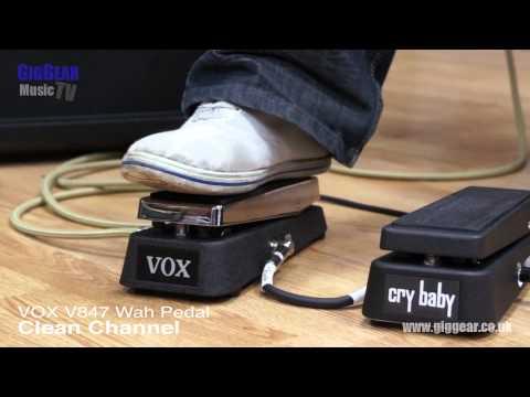 Crybaby Wah v Vox V847 Wah
