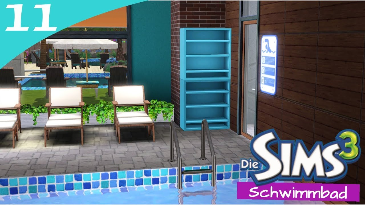 Hausbau Reihe 6 11: Schwimmbad [Letu0027s Build Sims 3 Haus]