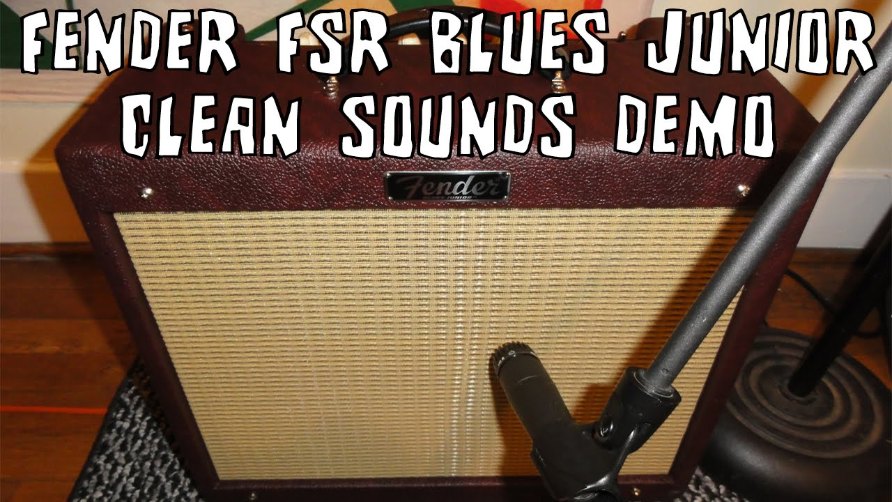 Fender Blues Junior III - Limited Edition Bordeaux Reserve