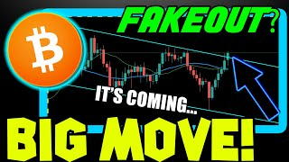 BITCOIN PRICE ABOUT TO CONFIRM DIRECTION! DON'T LET BTC FAKE YOU OUT!