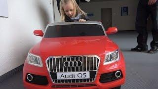 Elektro Kinderauto Kinderfahrzeug AudiQ5 im EURONICS-Test