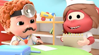 I'm A Little Doctor   Pretend Play Song   Doctor Song+ More Nursery Rhymes & Kids Songs - Blue Fish