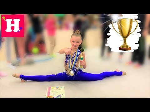 🥇 ЗОЛОТАЯ МЕДАЛЬ И КУБОК  🏆 на Турнире по Художественной гимнастике Мисс Николь