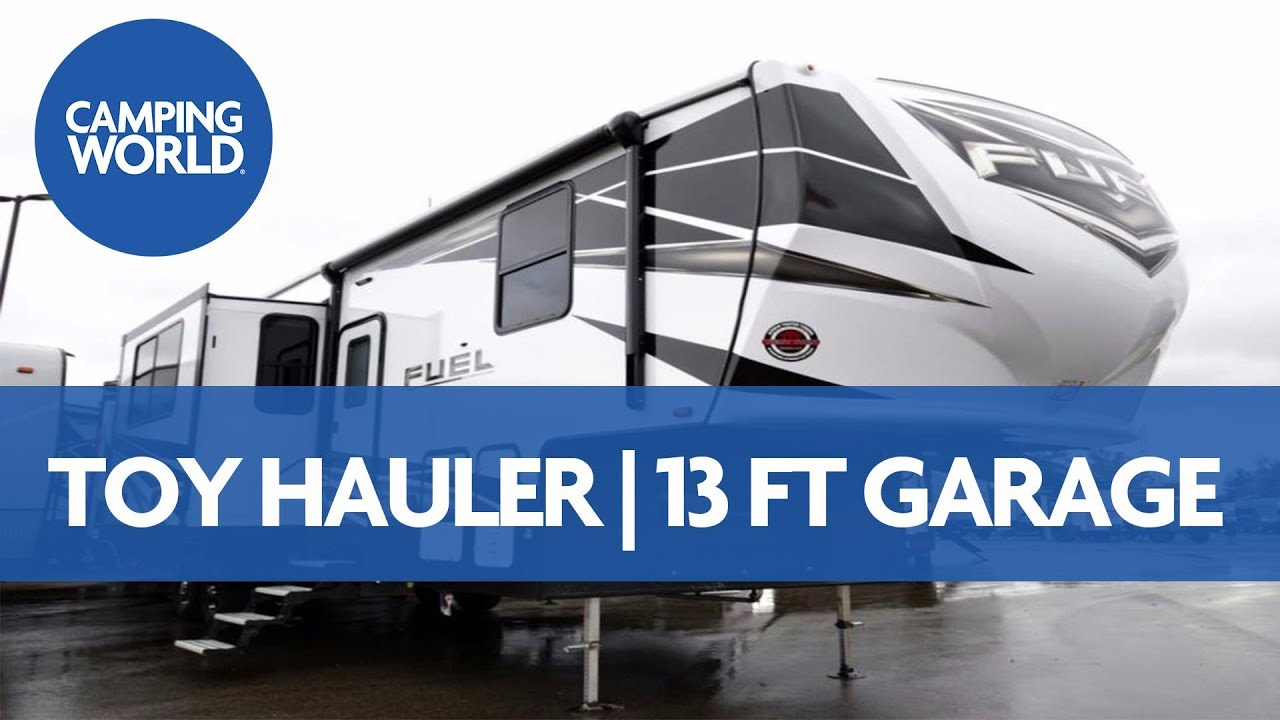 2018 Heartland Fuel 352 Fifth Wheel Toy Hauler Rv Review Youtube