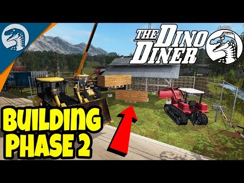DINO DINER CONSTRUCTION SITE | Rappack Farms #67 | Farming Simulator 17 Multiplayer Gameplay