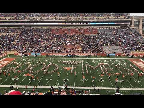 November 29, 2019 The University Of Texas Longhorn Band, UT-Texas Tech