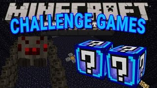 Minecraft PE | Mutant Spider Challenge Games | Lucky Block Mod | Modded Mini Game