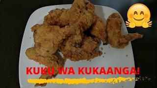 Kuku wa Kukaanga na Mayai -Swahili