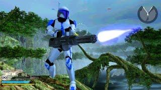 Star Wars Battlefront 2 Mods - 3.5 Modification mod Dagobah Villains Gameplay