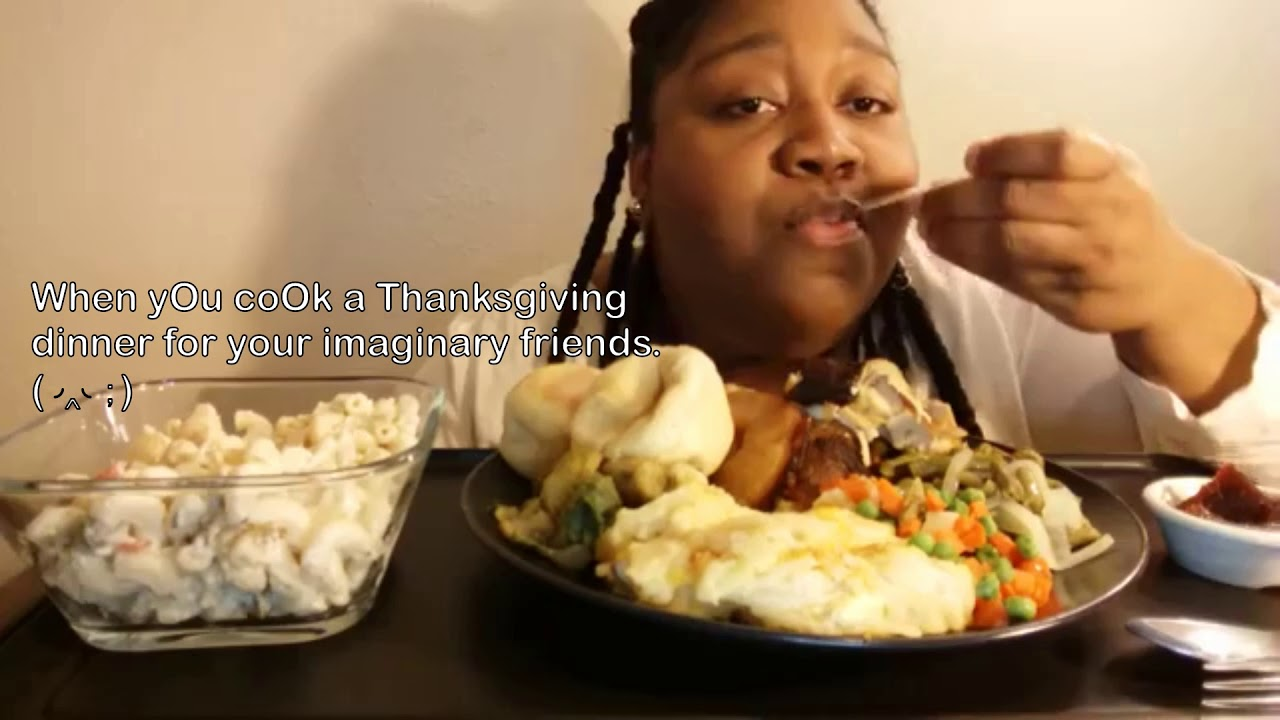 🦃How mukbangers act on Thanksgiving! 😱