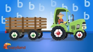 Uses of Roadheader & Other Tractors for Children | Show of farmers' machines - Traktor dla dzieci
