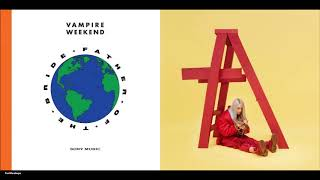 Vampire Weekend, Billie Eilish - idontwannabeyourmistake (Mashup)