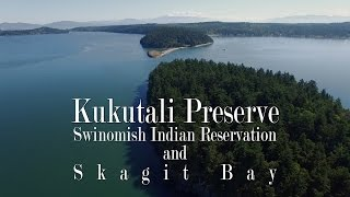 Kukutali Preserve (Swinomish Reservation), Washington from the air (DJI Phantom 3 Pro)