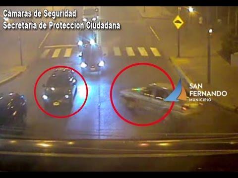 Chocan tres autos y gracias a las cámaras de San Fernando fueron rápidamente atendidos