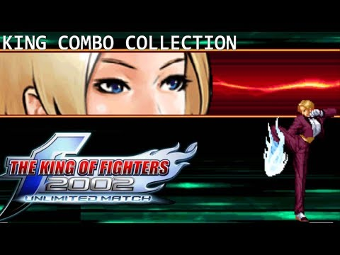 Kof 2002 Um King キング Combos Collection Hd 47 Youtube