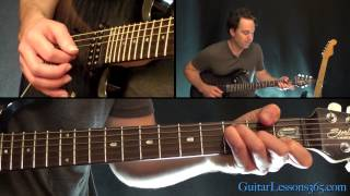Don't Cry Guitar Lesson - Guns N' Roses - Rhythm Guitar Parts