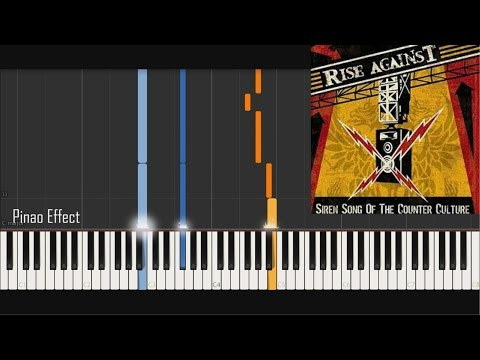 Rise Against - Swing Life Away (Piano Tutorial Synthesia)
