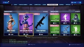 NEW SKIN FORTNITE (TODAY'S BOUTIQUE)